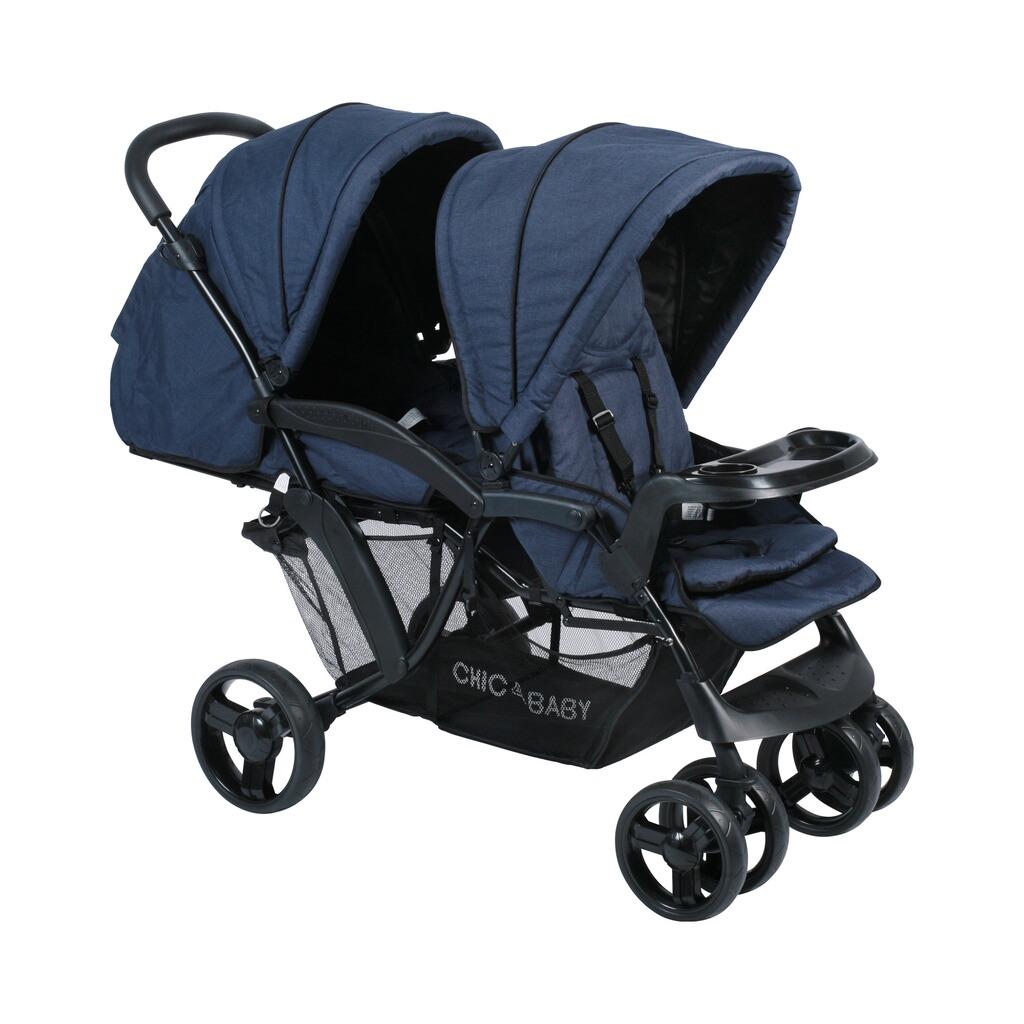 chic 4 baby doppio zwillings und geschwisterwagen online kaufen baby walz. Black Bedroom Furniture Sets. Home Design Ideas