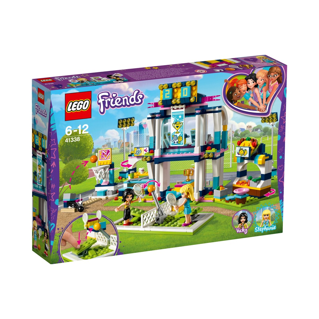 LEGO® FRIENDS 41338 Stephanies Sportstadion 1