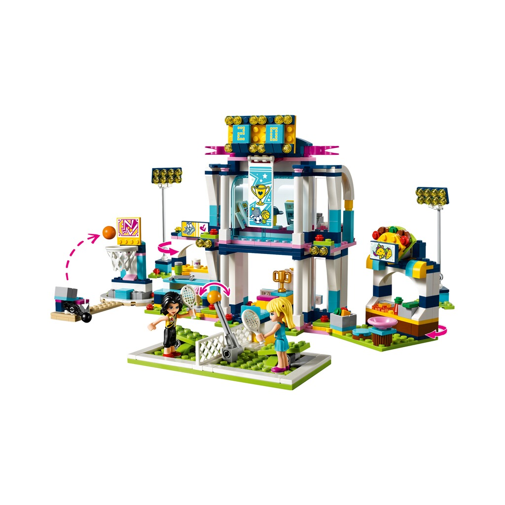 LEGO® FRIENDS 41338 Stephanies Sportstadion 3