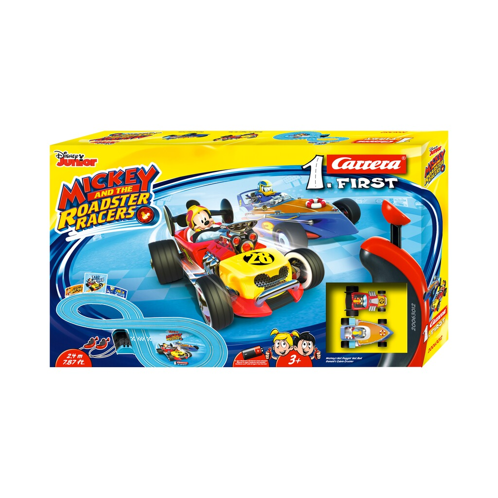 Carrera MICKEY AND THE ROADSTER RACERS Auto-Rennbahn Carrera First Mickey and the Roadster Racers 4