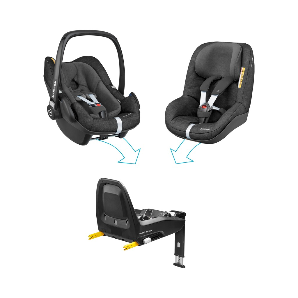 maxi cosi isofix base familyfix one i size f r rock pearl. Black Bedroom Furniture Sets. Home Design Ideas