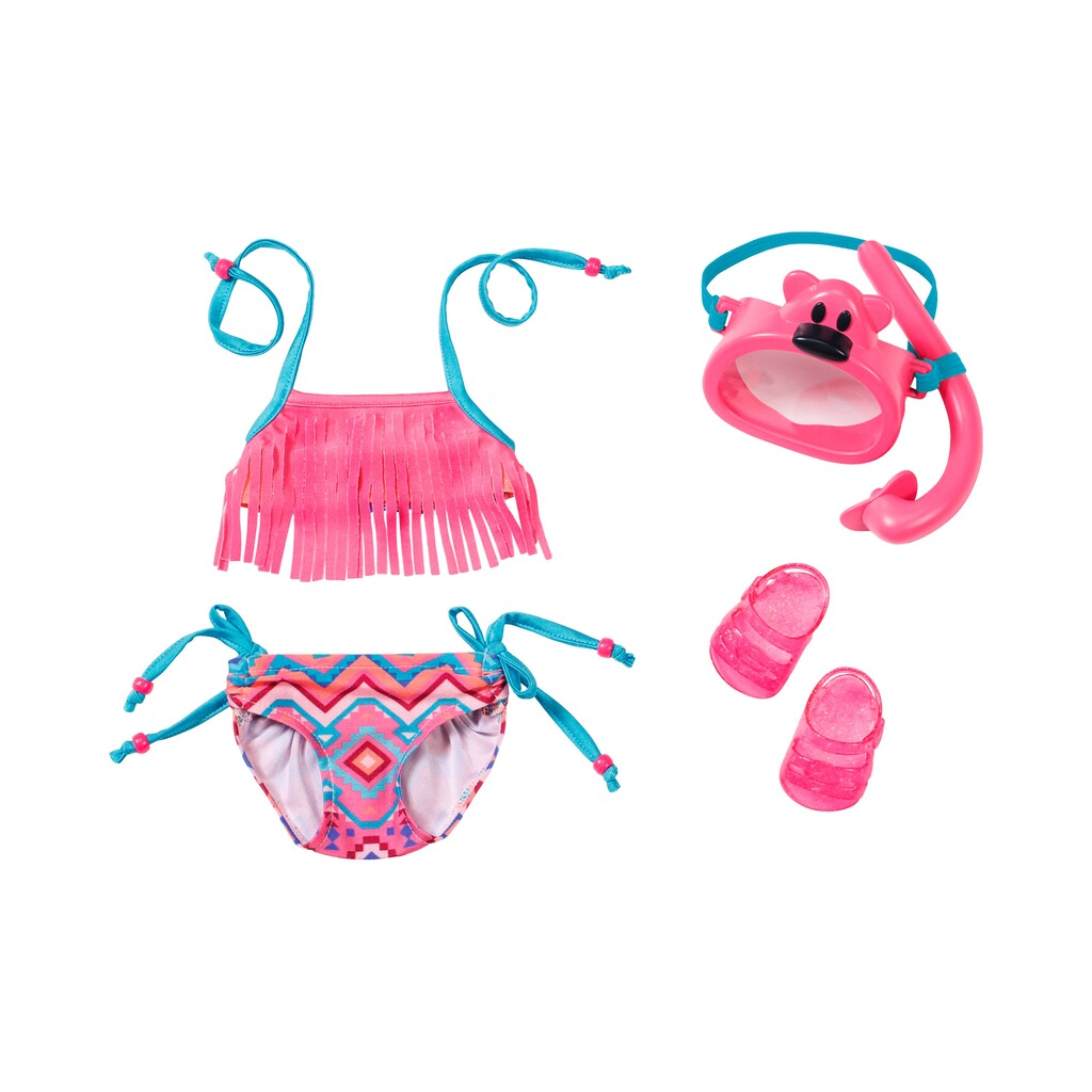 Zapf Creation BABY BORN Puppen Outfit Deluxe Schwimm Set Play&Fun 1