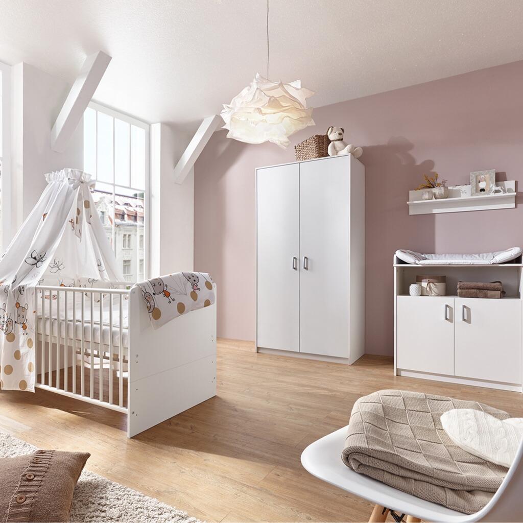 Schardt 3 tlg babyzimmer classic white mit 2 t rigem - Exklusive babyzimmer ...