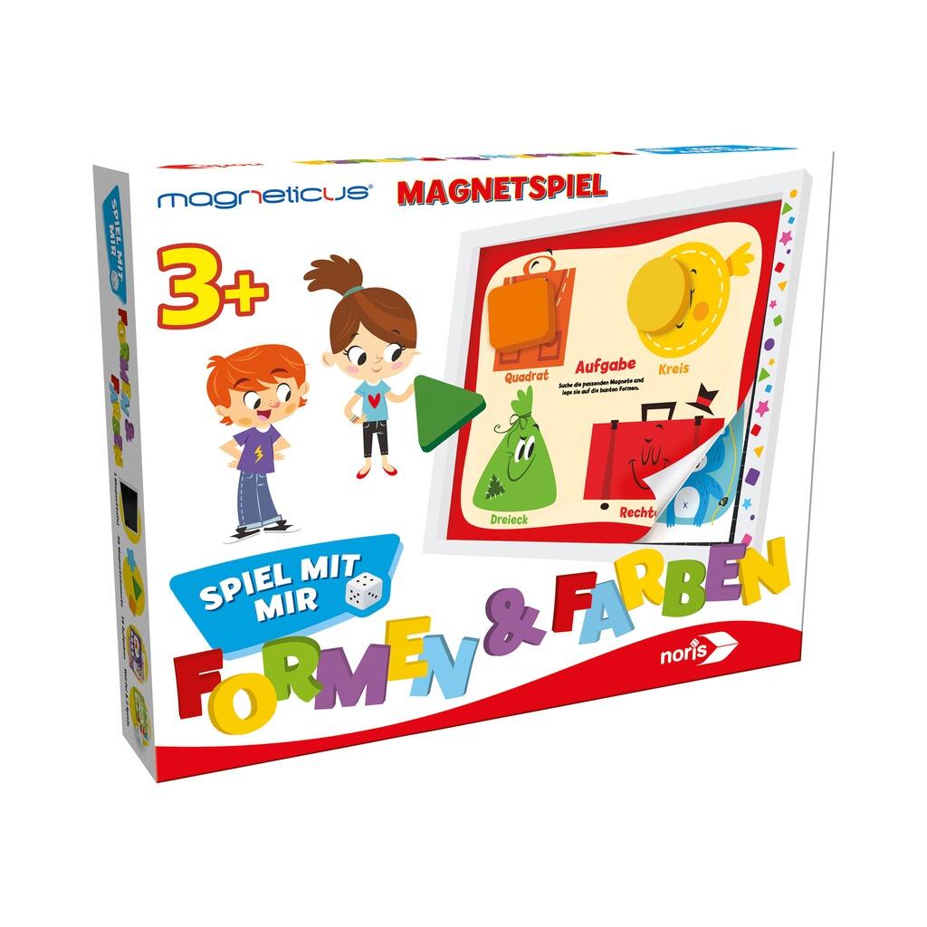 NORIS Magneticus Spiel mit mir - Formen & Farben online kaufen ...