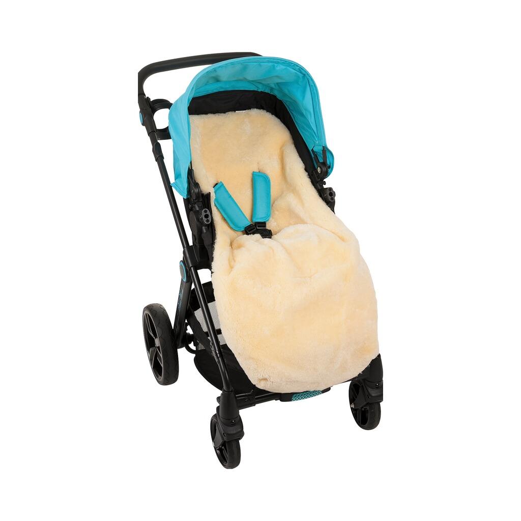 babycab lammfell fu sack elista f r kinderwagen buggy. Black Bedroom Furniture Sets. Home Design Ideas