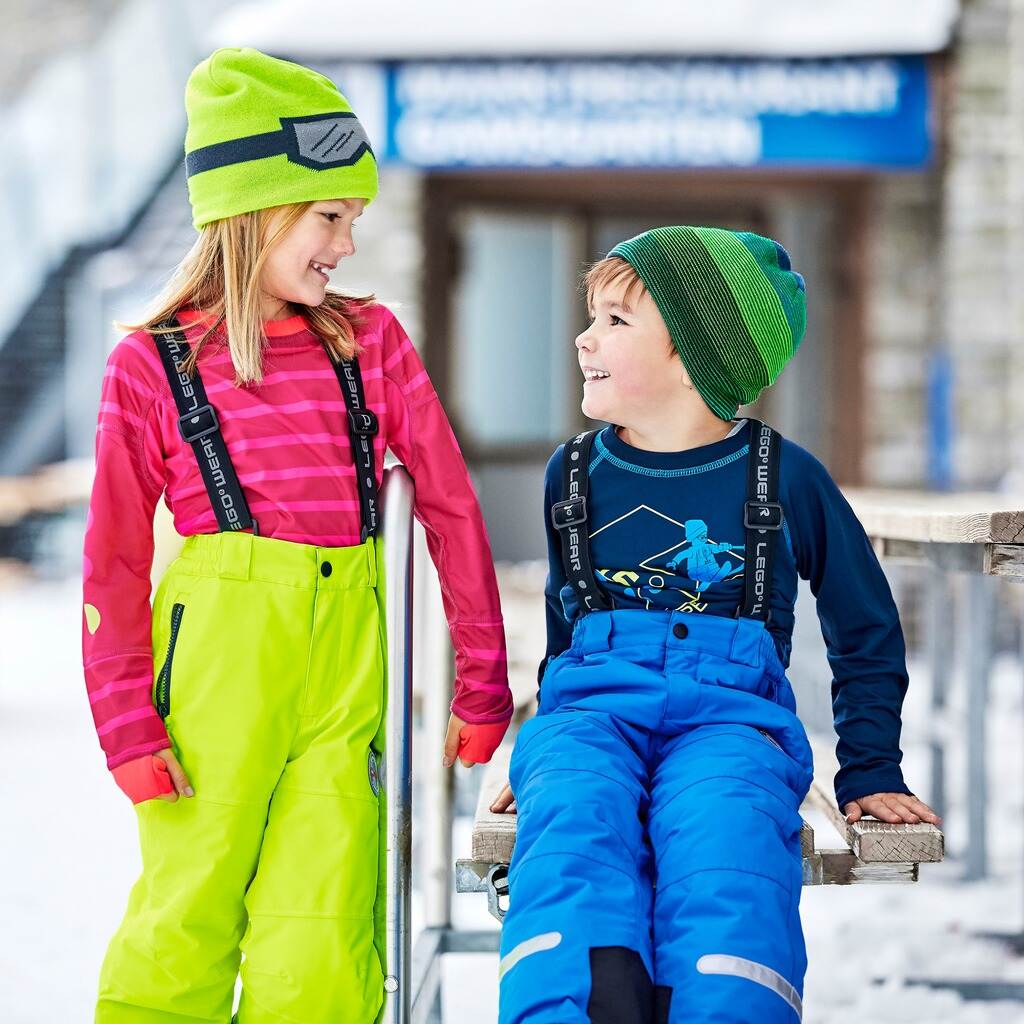 Lego Wear TEC Skihose Ping  lime 5