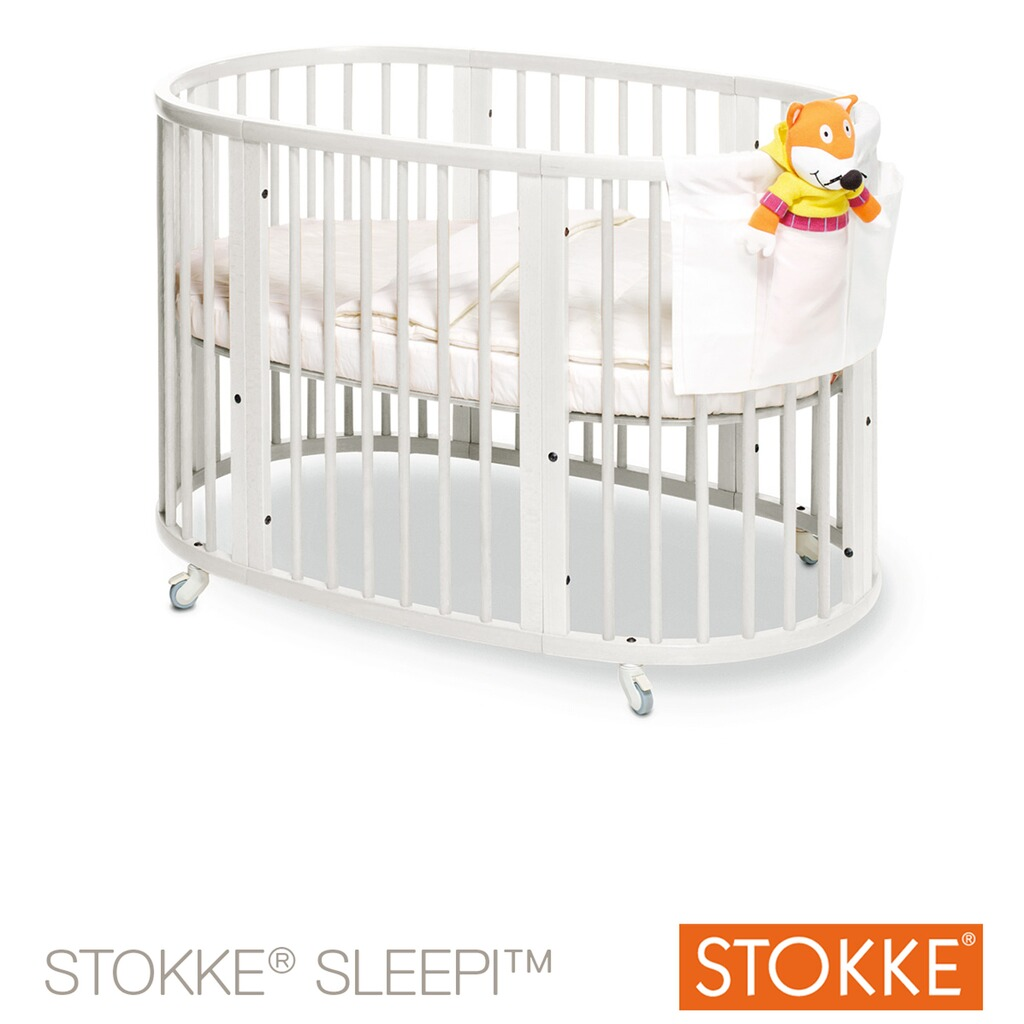 stokke sleepi babybett mit matratze sleepi 120 cm 6 36 monate online kaufen baby walz. Black Bedroom Furniture Sets. Home Design Ideas