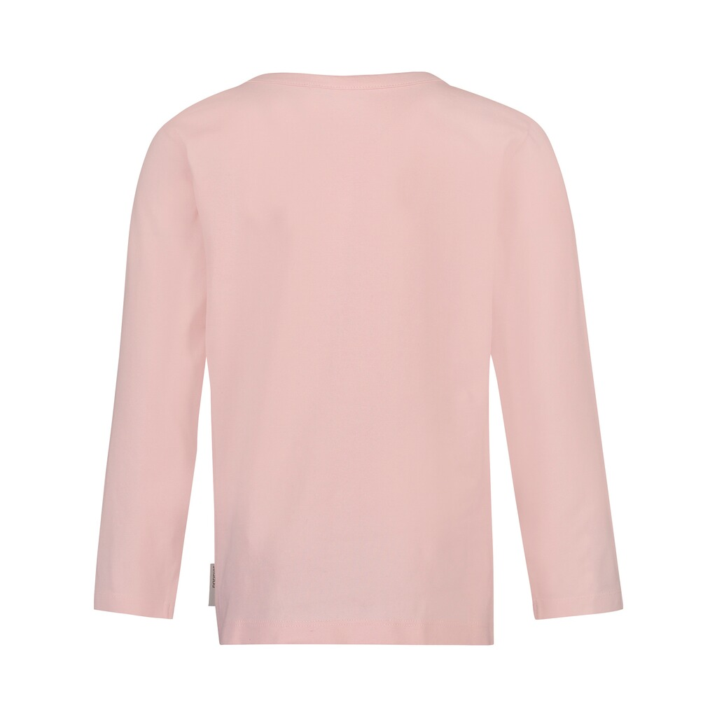 Noppies  Shirt langarm Schmetterling  rosa 2