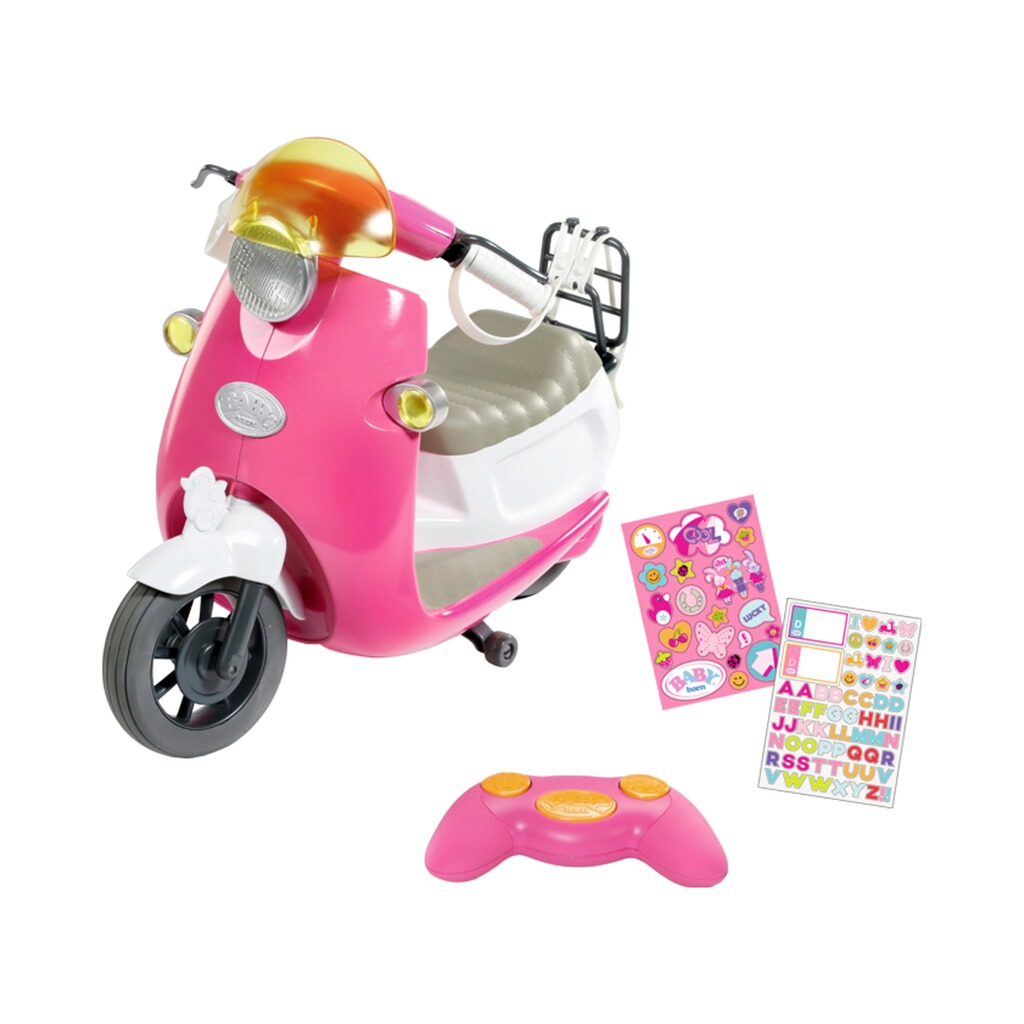 ZAPF BABY BORN Puppen City RC Scooter 1