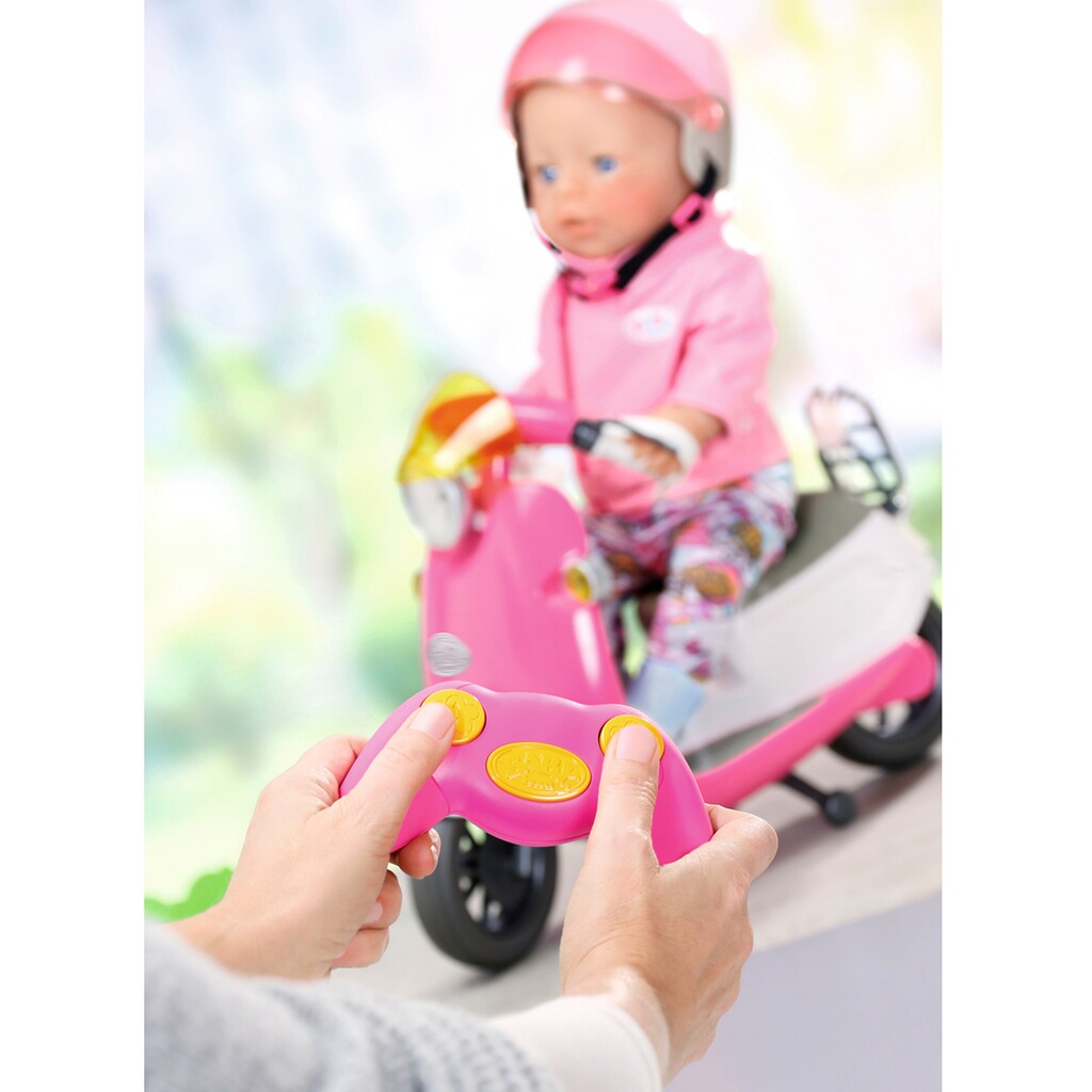 Zapf Creation BABY BORN Puppen City RC Scooter 5