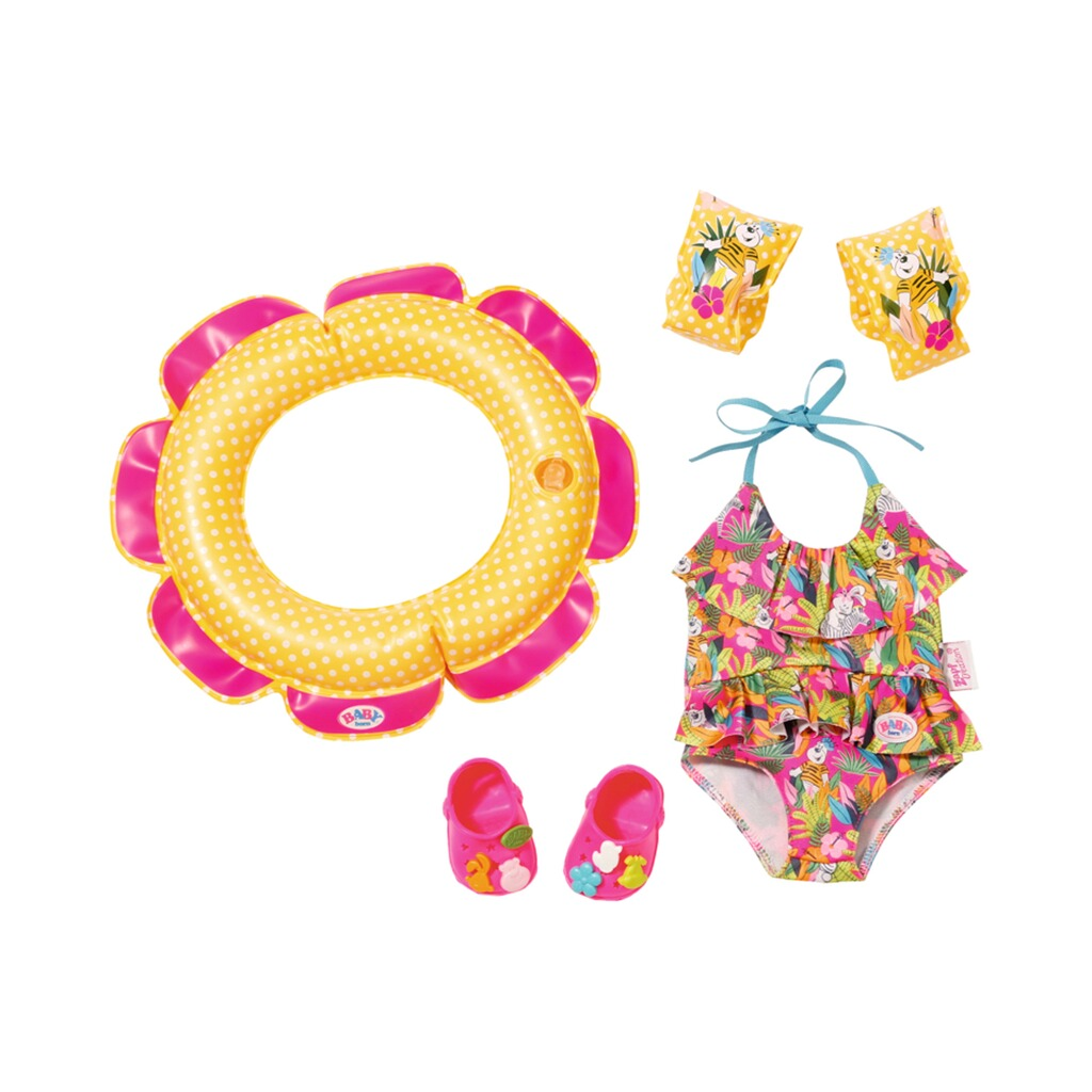 Zapf Creation BABY BORN Puppen Outfit Schwimmspaß Set 1