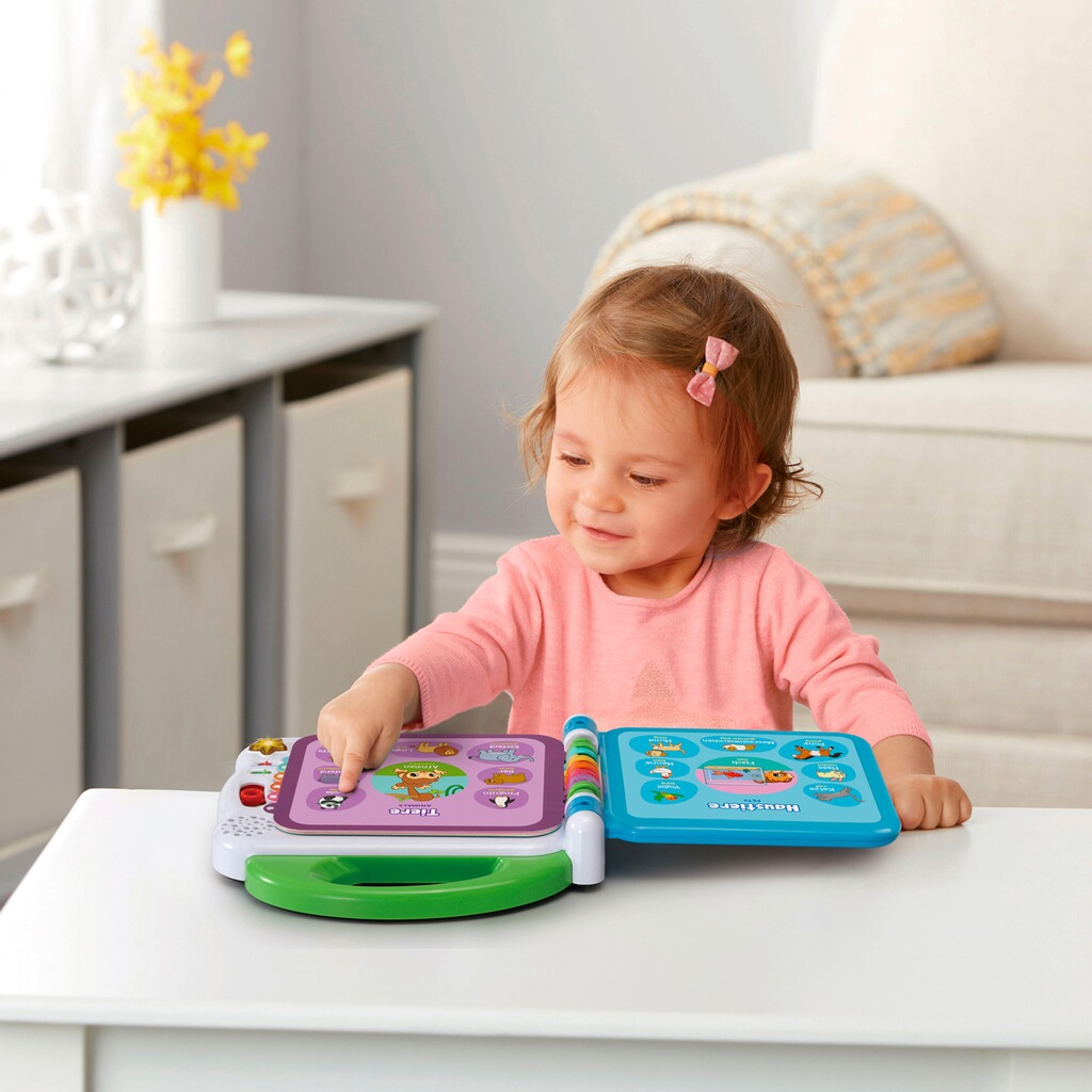 vtech baby lernspa mein 100 w rter buch online kaufen baby walz. Black Bedroom Furniture Sets. Home Design Ideas