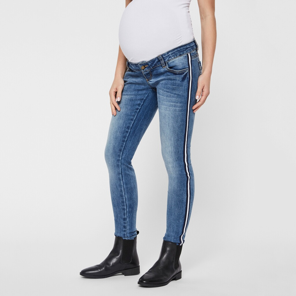 MAMALICIOUS®  Umstands-Jeans Slim Sonar 4