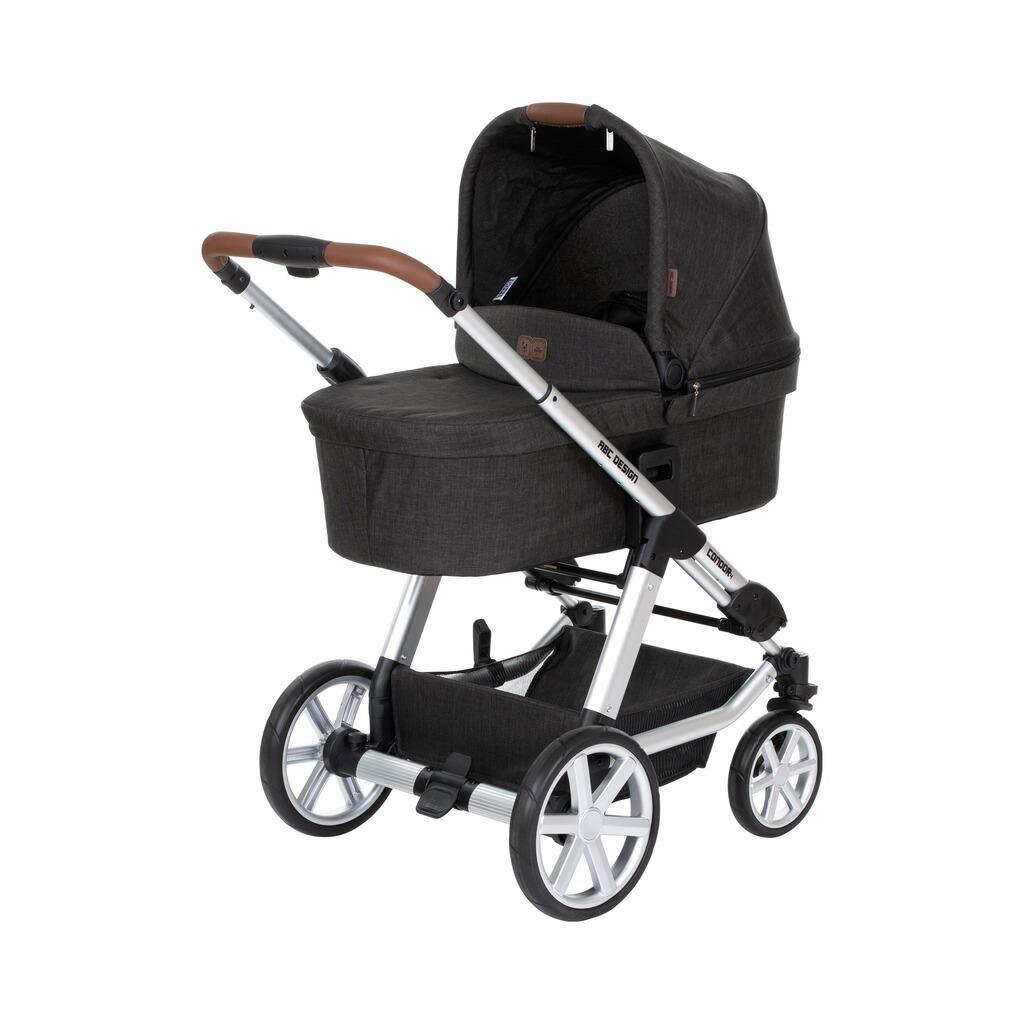 abc design condor 4 kombikinderwagen online kaufen baby walz. Black Bedroom Furniture Sets. Home Design Ideas