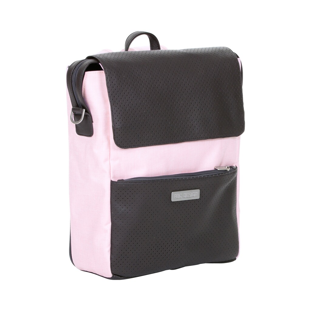 ABC Design  Wickelrucksack City  rose 1