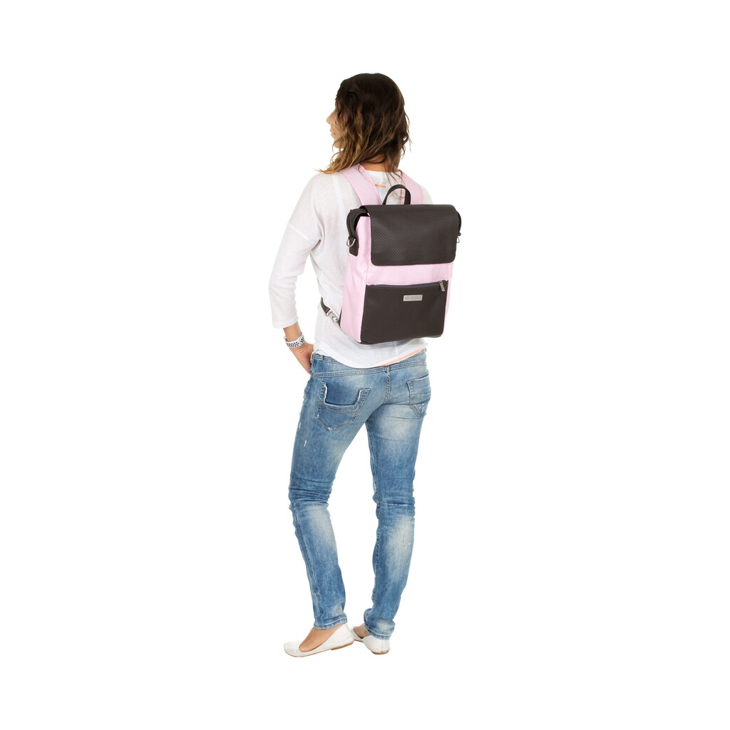 ABC Design  Wickelrucksack City  rose 9