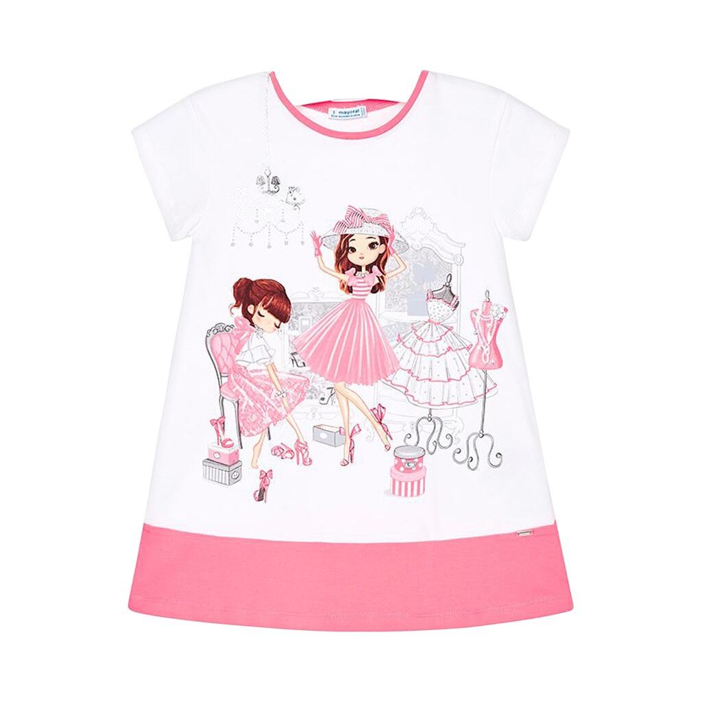 49329defaa18e0 Mayoral Kleid kurzarm Mädchen online kaufen   baby-walz