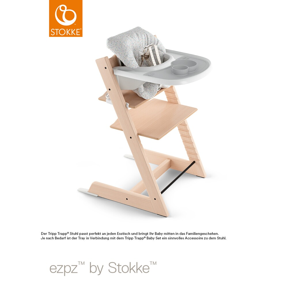 stokke tripp trapp ezpz tischset f r tripp trapp tray online kaufen baby walz. Black Bedroom Furniture Sets. Home Design Ideas