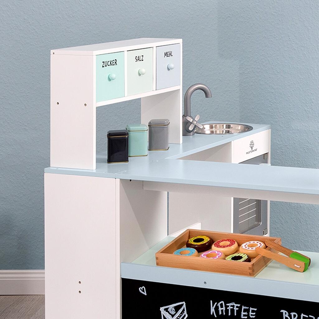 27e79fb479b2af Kaufladen Bäcker & Konditor Grano weiß/apricot