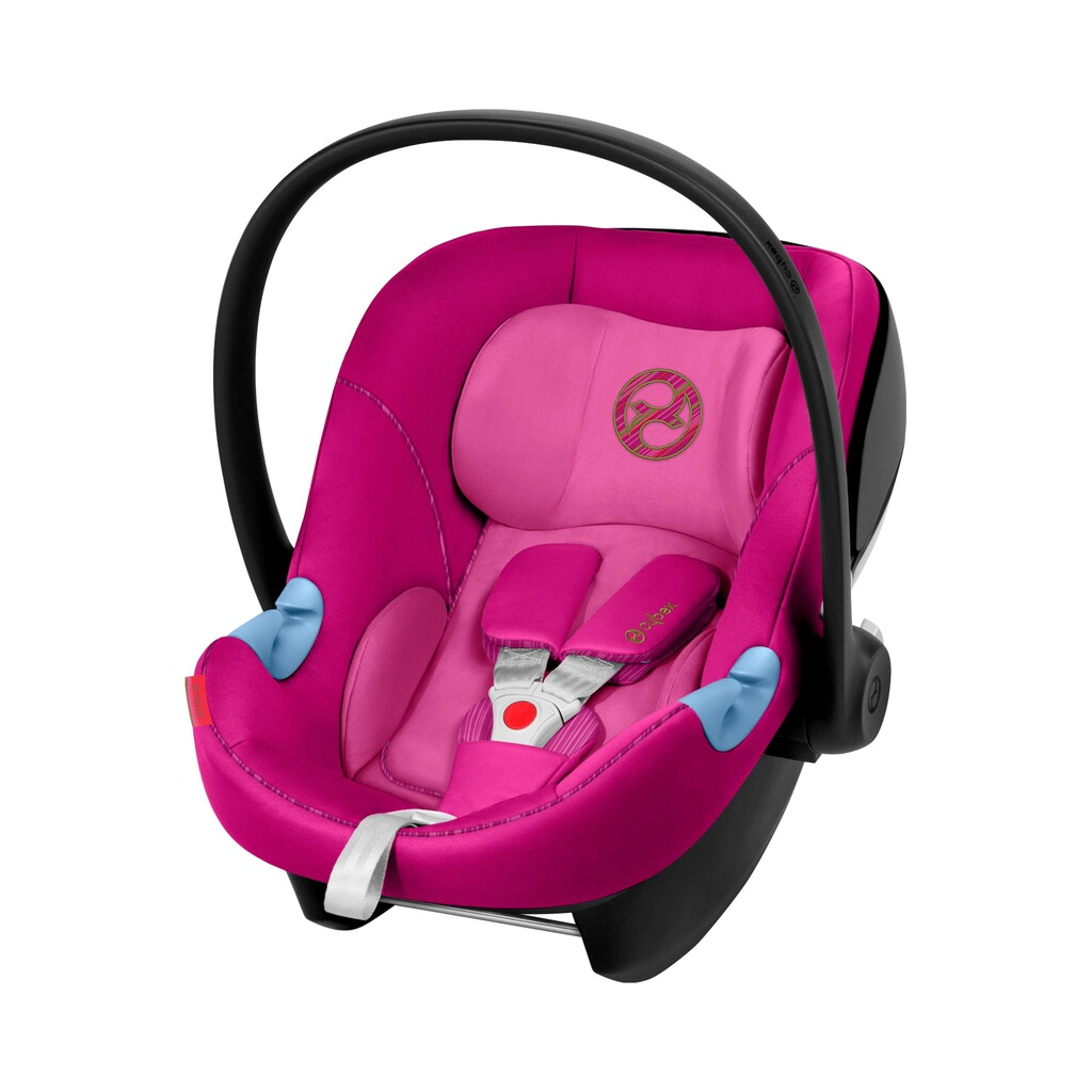Cybex GOLD Aton M Babyschale  fancy pink 1