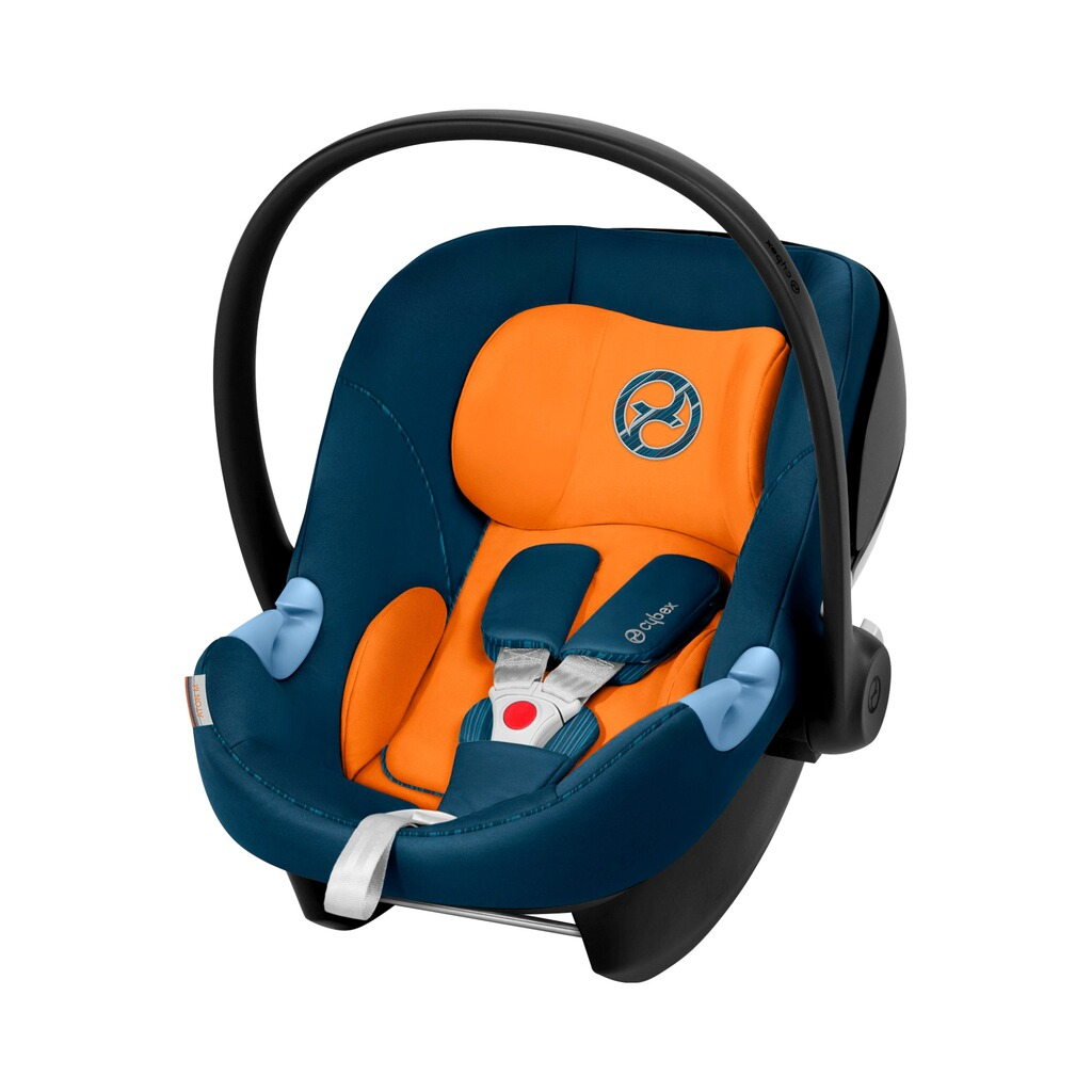 Cybex GOLD Aton M Babyschale  tropical blue 1