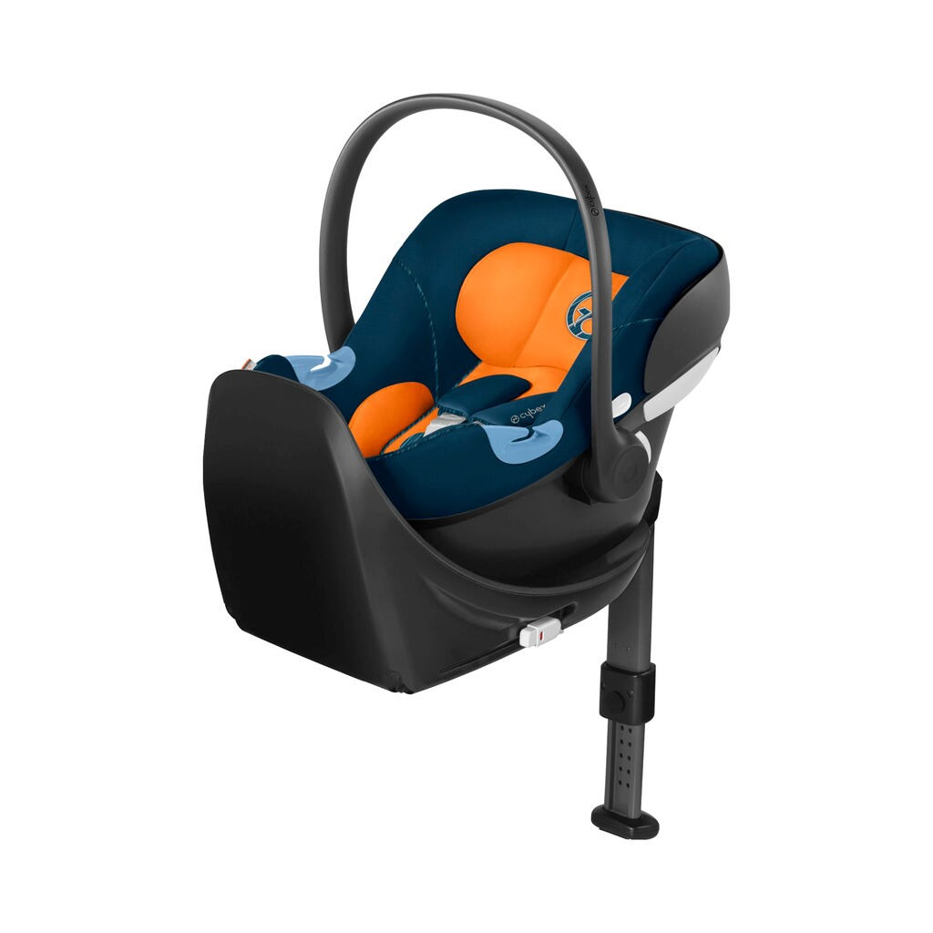 Cybex GOLD Aton M Babyschale  tropical blue 6