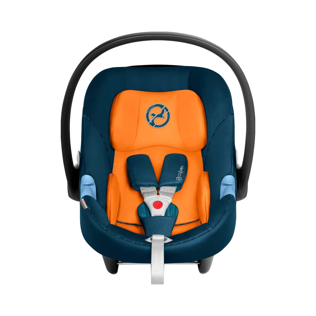 Cybex GOLD Aton M Babyschale  tropical blue 2