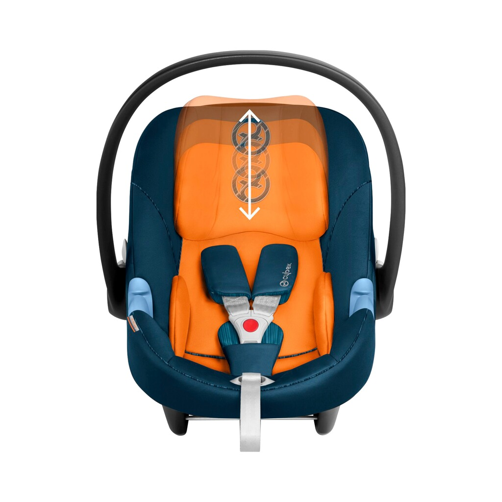 Cybex GOLD Aton M Babyschale  tropical blue 3