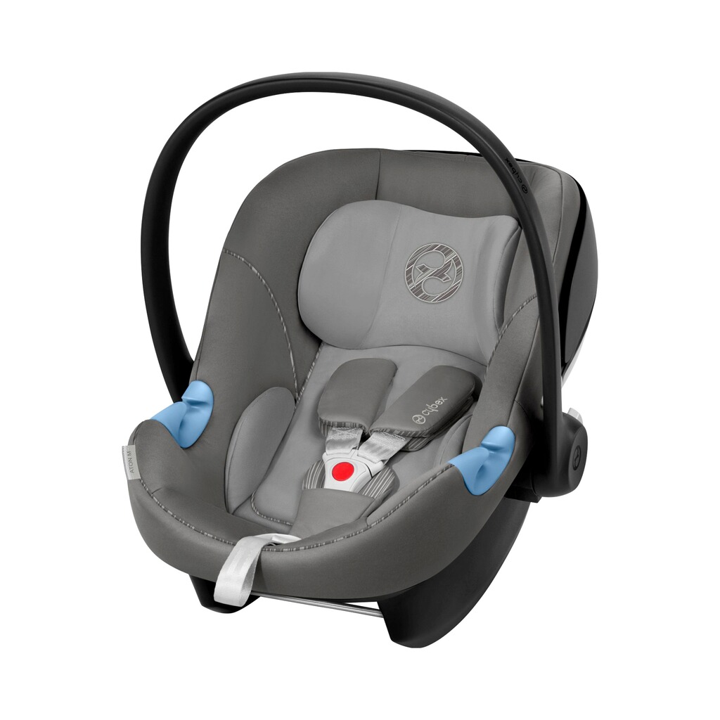 Cybex GOLD Aton M Babyschale  manhattan grey 1