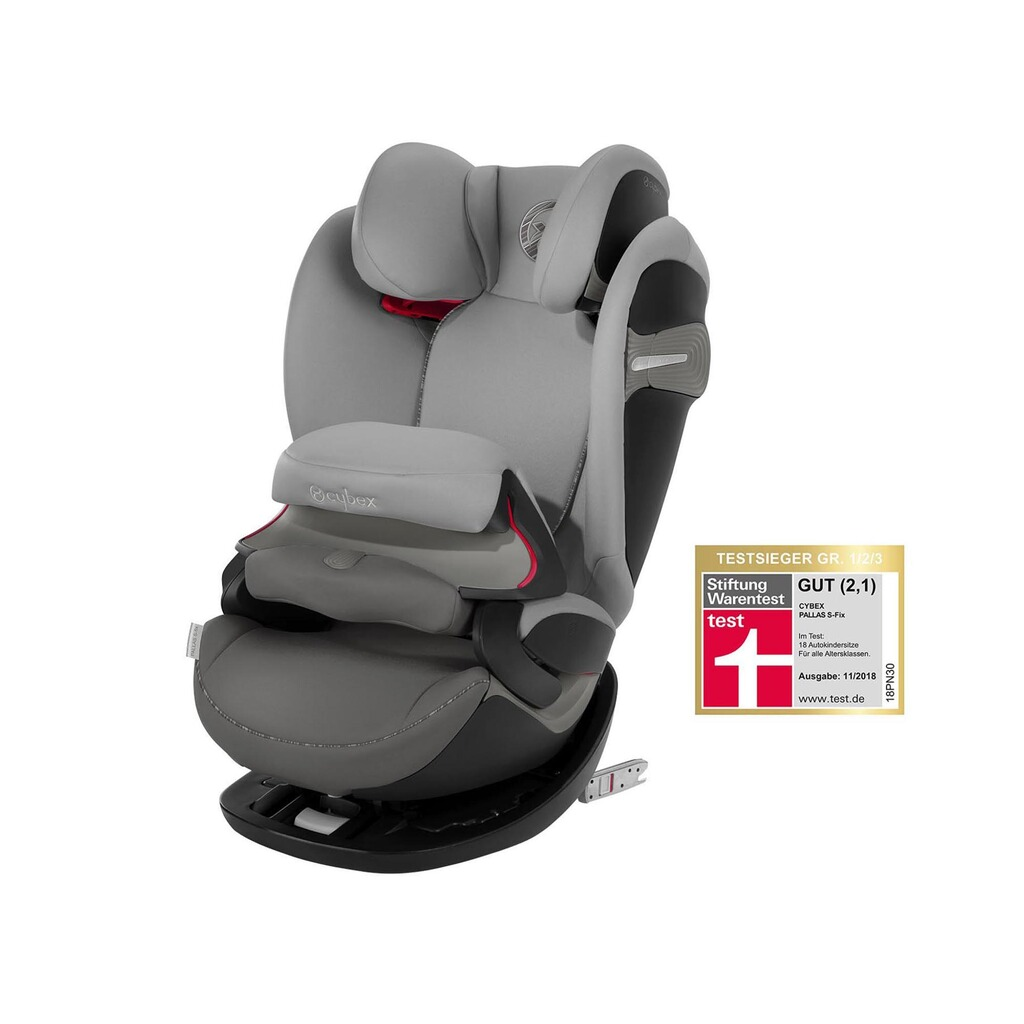 Cybex GOLD Pallas S-Fix Kindersitz  manhattan grey 1