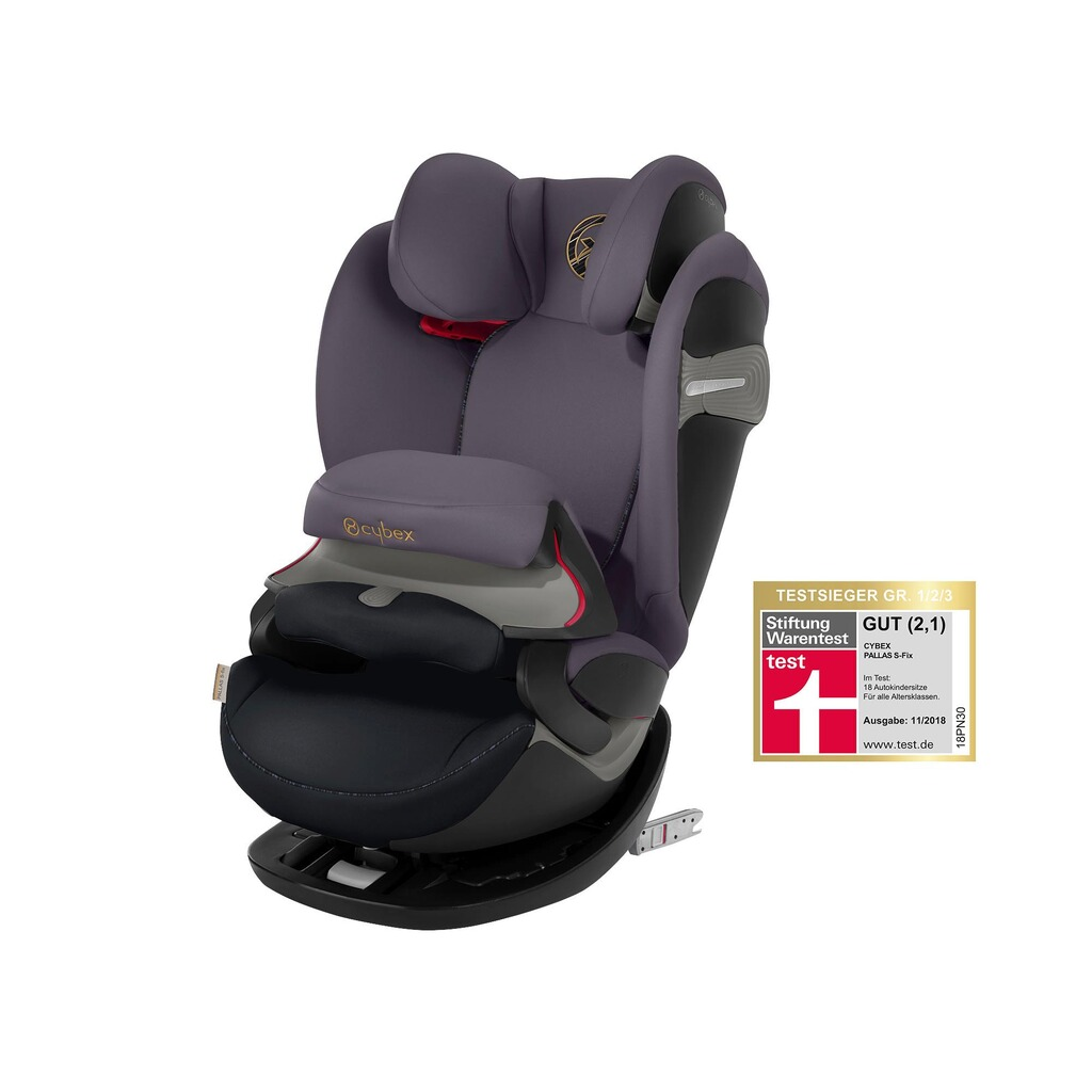 Cybex GOLD Pallas S-Fix Kindersitz  premium black 1