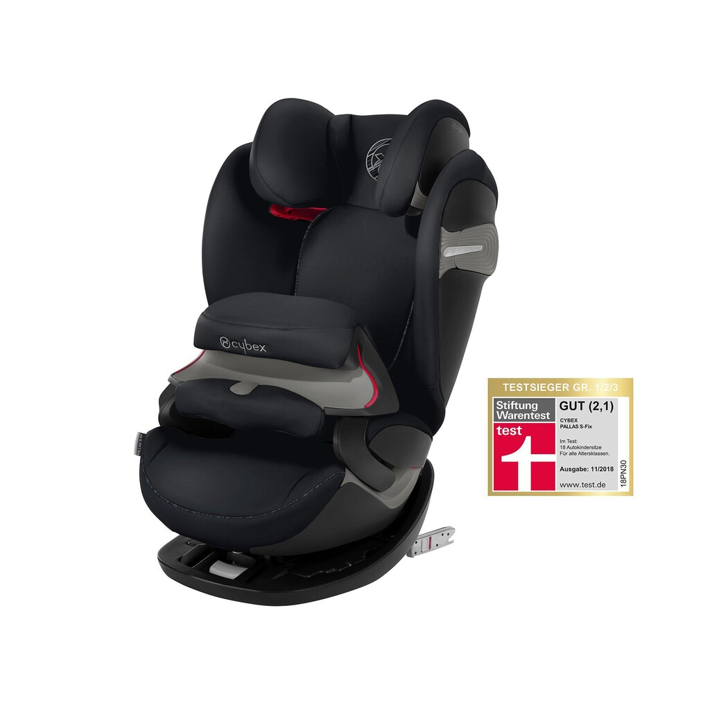 Cybex GOLD Pallas S-Fix Kindersitz  urban black 1
