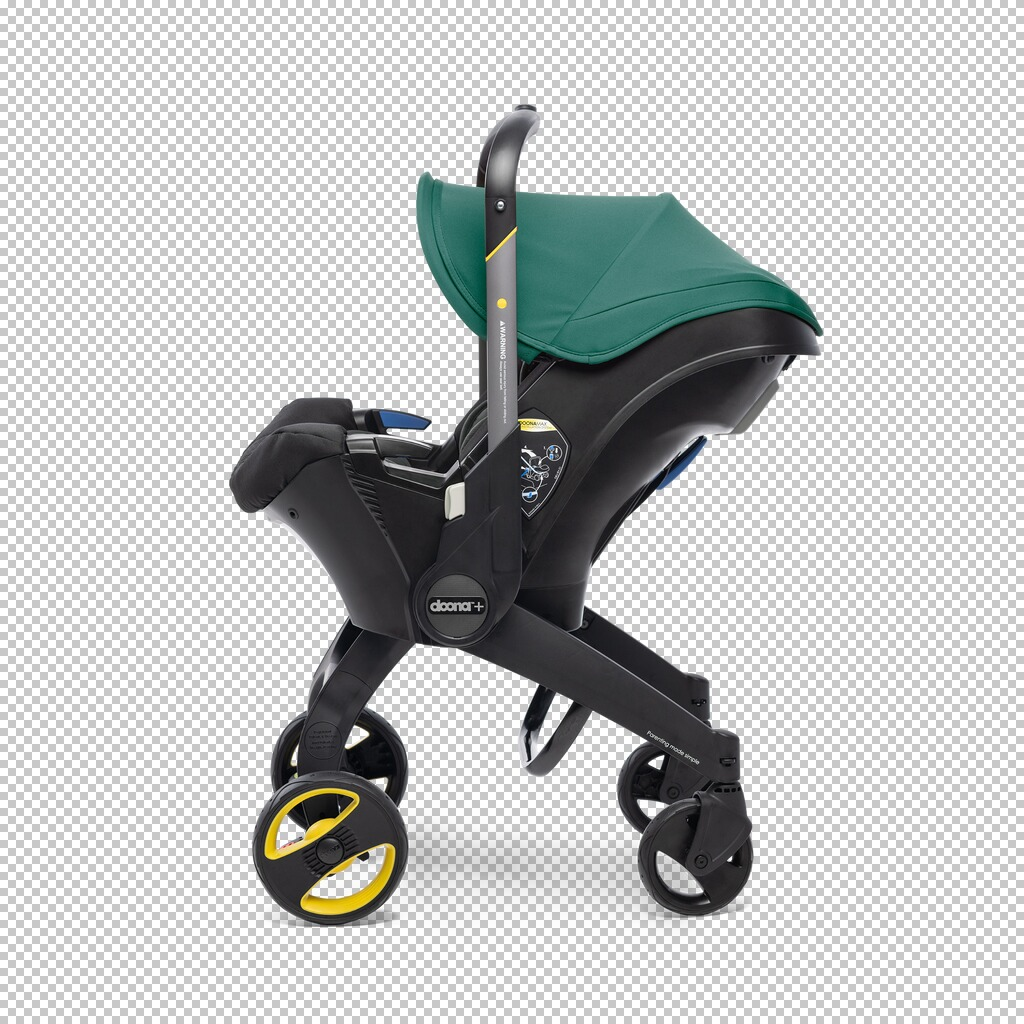 Doona  Doona+ Babyschale  Racing Green / grün 7