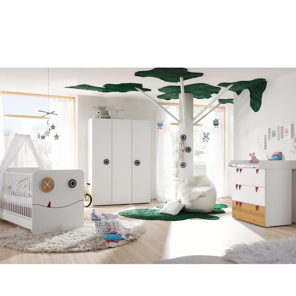 now by h lsta now minimo 3 tlg babyzimmer minimo mit 3 t rigem kleiderschrank online kaufen. Black Bedroom Furniture Sets. Home Design Ideas