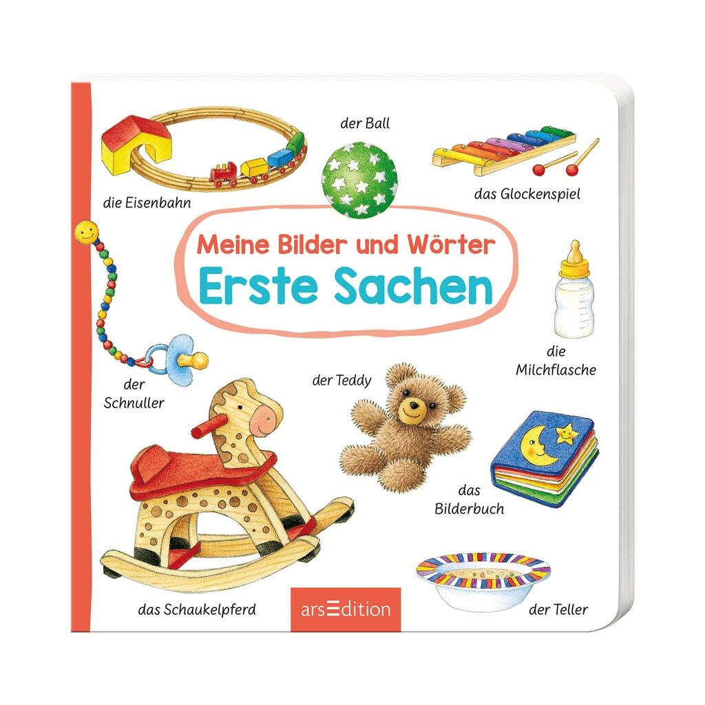 new styles a5f6d 9c662 Pappbilderbuch Meine Bilder und Wörter - Erste Sachen