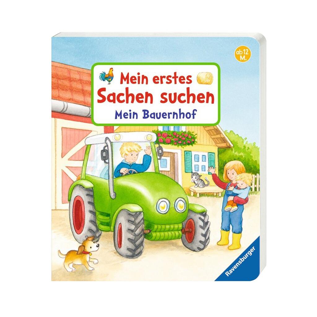 promo code 42afc b6c09 PAPPBILDERBÜCHER Pappbilderbuch Mein erstes Sachen suchen: Mein Bauernhof