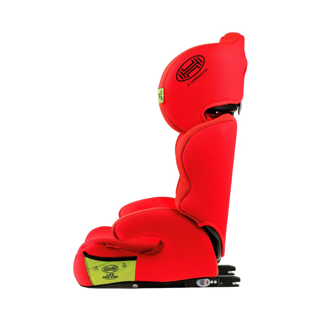 HEYNER  MaxiFix AERO Kindersitz  racing red 4