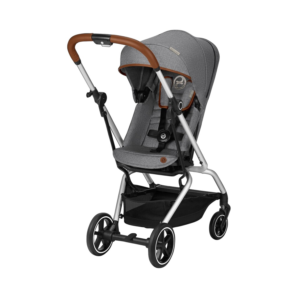 Cybex  Buggy Eezy S Twist+ Denim Collection  manhattan grey 1