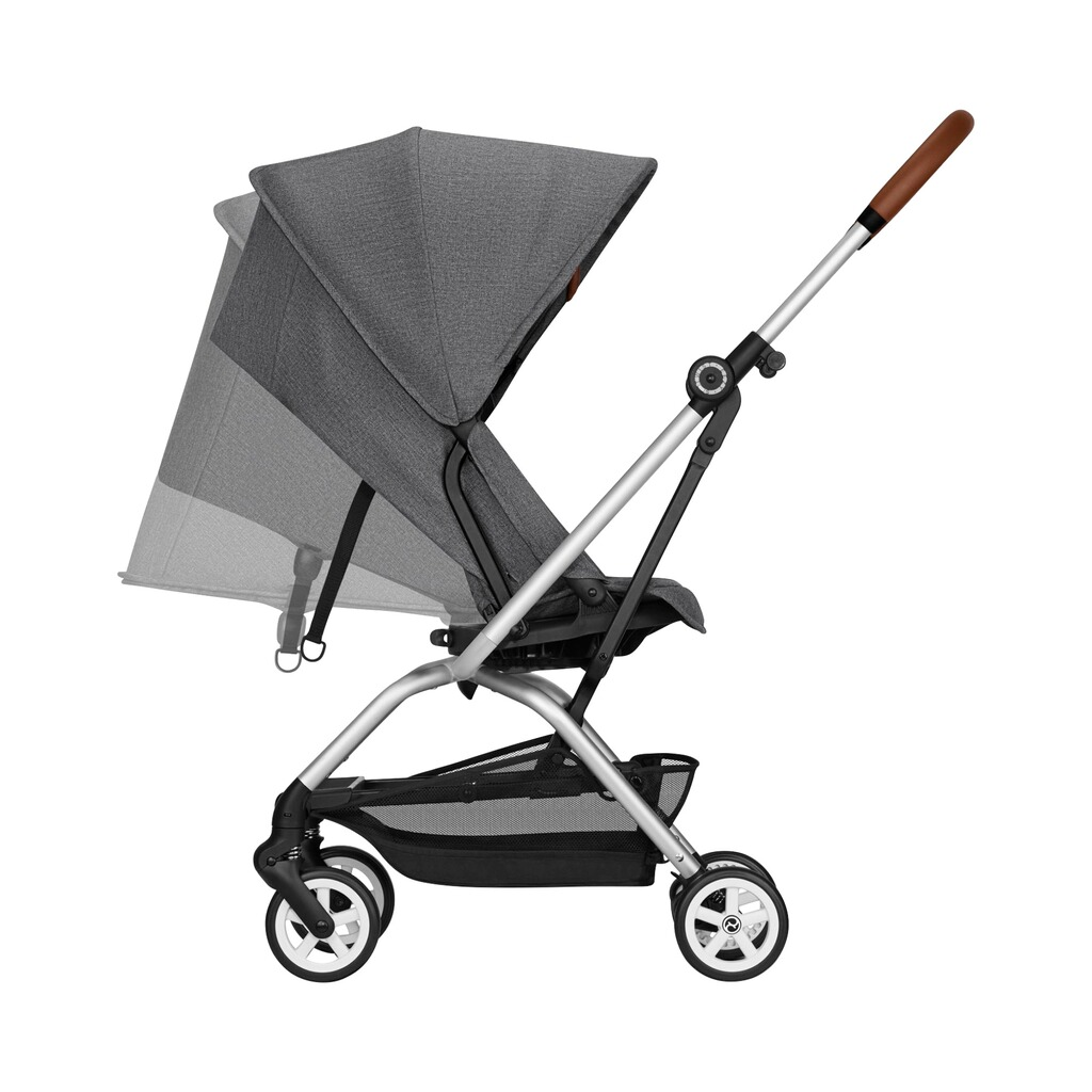 Cybex  Buggy Eezy S Twist+ Denim Collection  manhattan grey 4