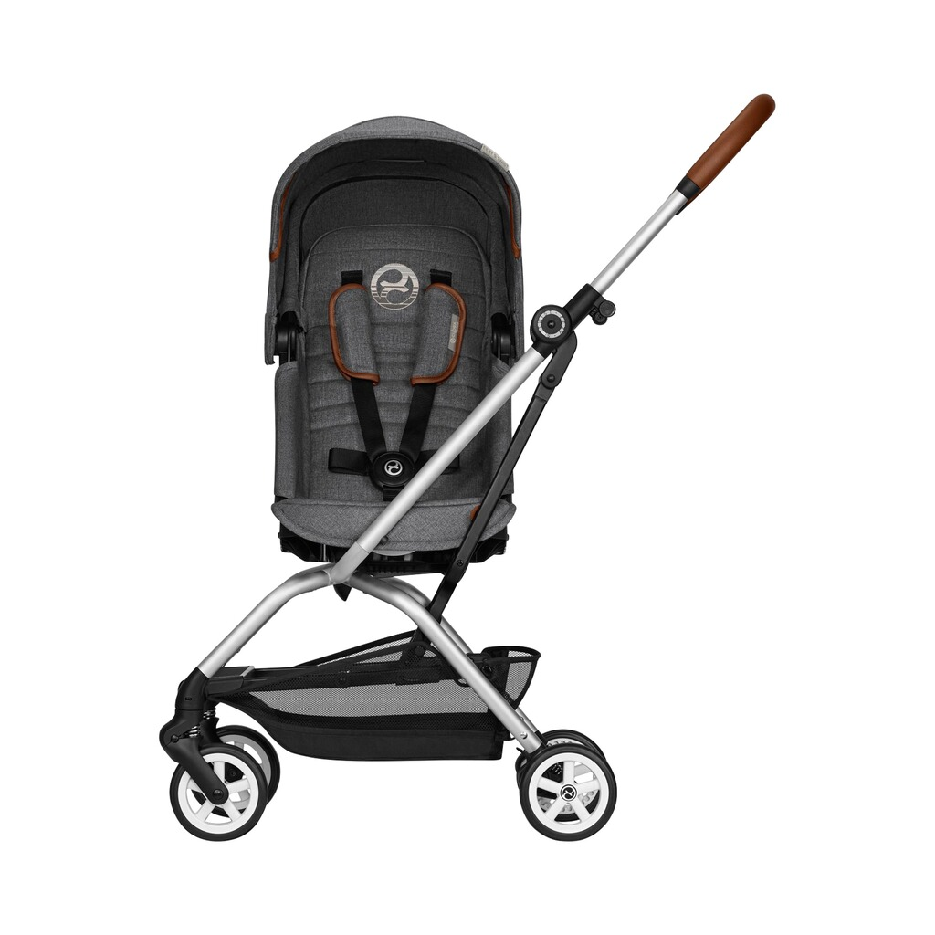 Cybex  Buggy Eezy S Twist+ Denim Collection  manhattan grey 2