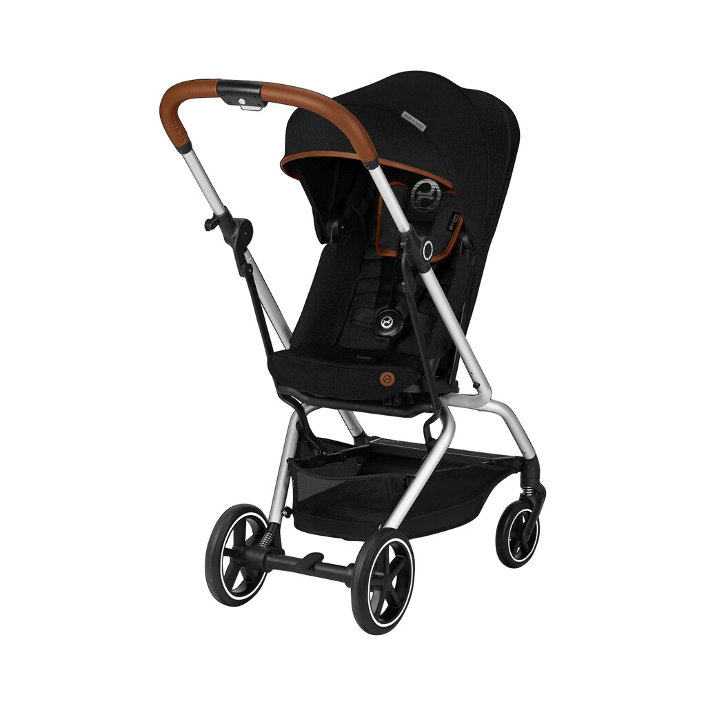Cybex  Buggy Eezy S Twist+ Denim Collection  lavastone black 1