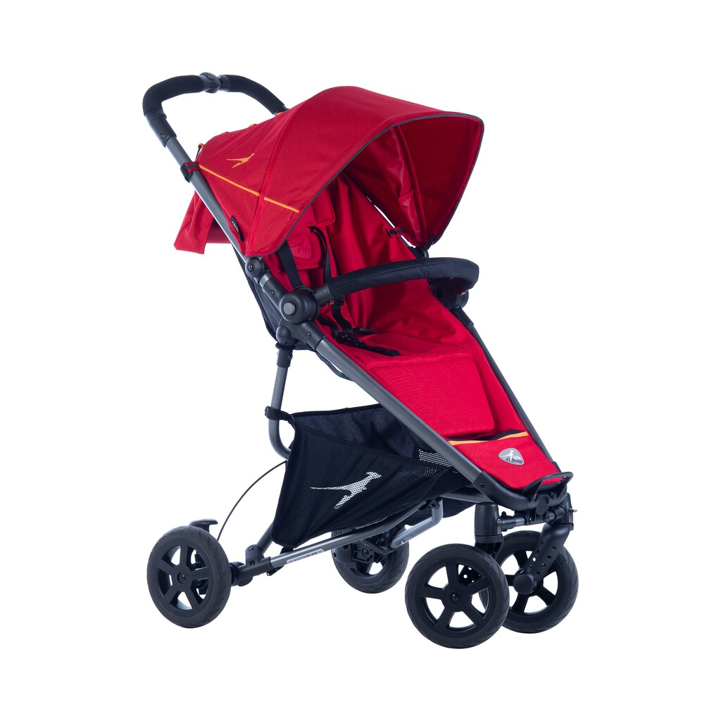 TFK  DOT2 Buggy mit Liegefunktion  Tango Red 1