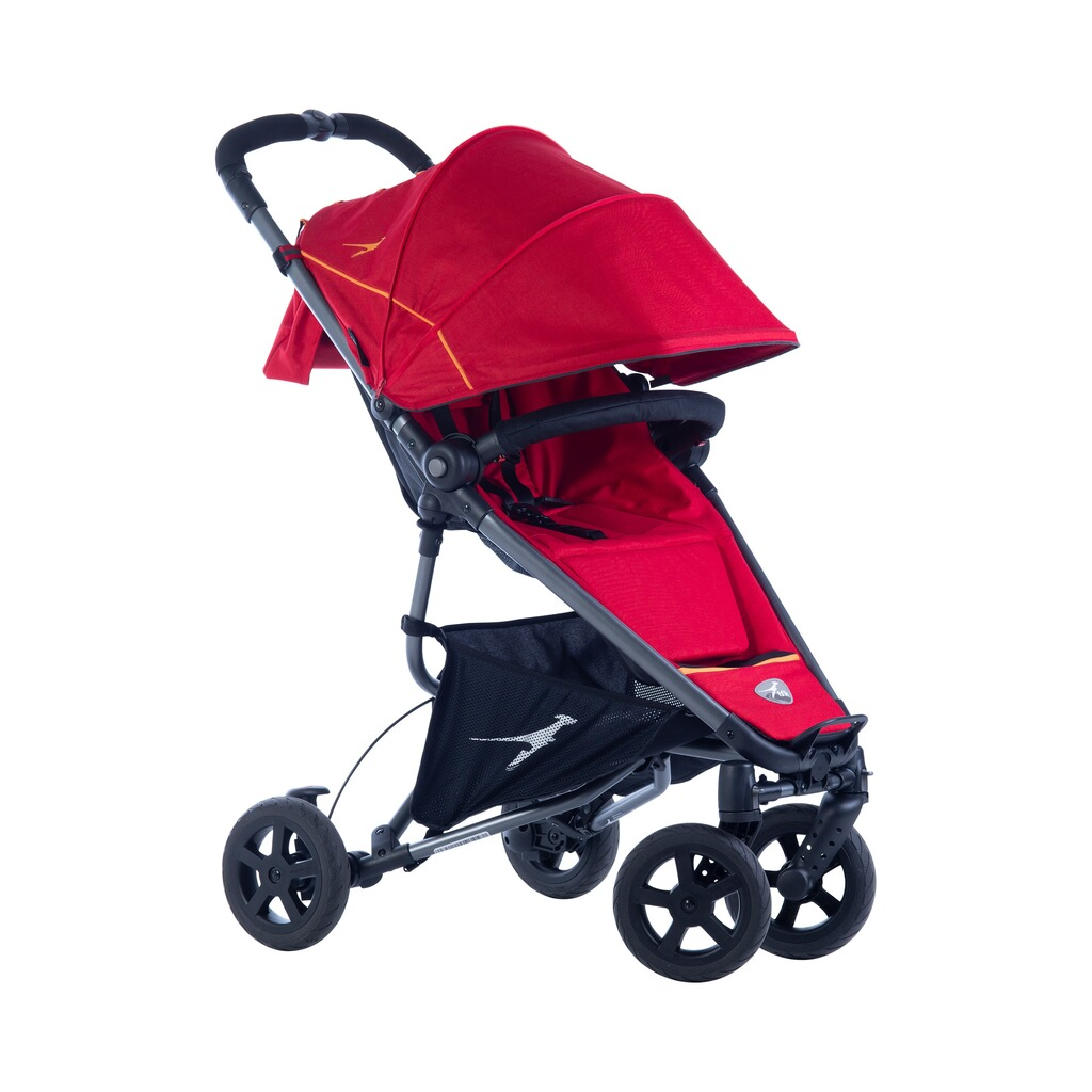 TFK  DOT2 Buggy mit Liegefunktion  Tango Red 2