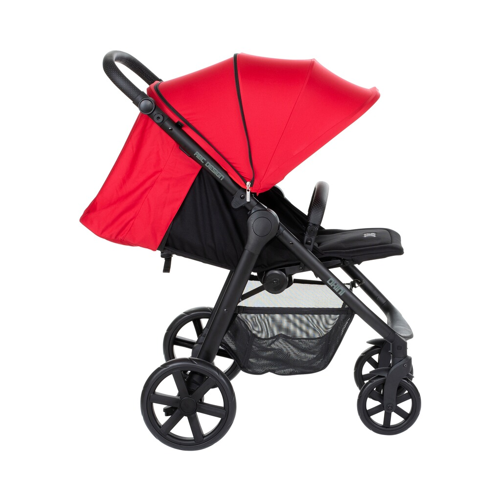 ABC Design  Okini Buggy mit Liegefunktion  berry 4