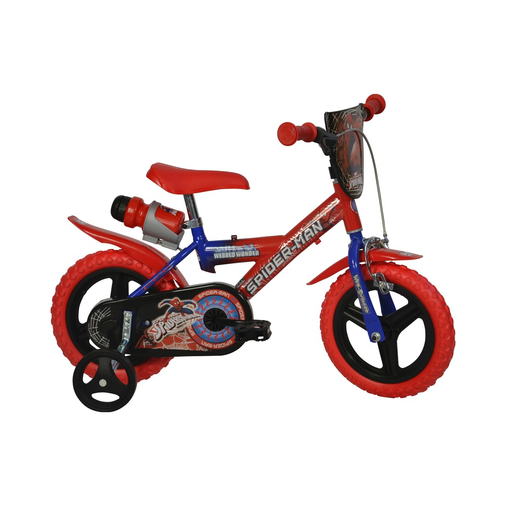 spiderman kinderfahrrad spiderman 12 zoll online kaufen. Black Bedroom Furniture Sets. Home Design Ideas