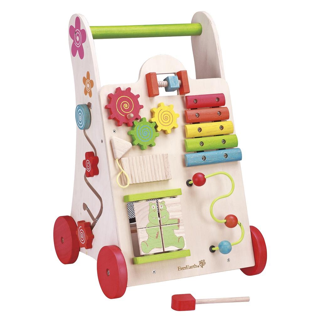 everearth lauflernwagen spielzeug 2 in 1 aus holz online kaufen baby walz. Black Bedroom Furniture Sets. Home Design Ideas