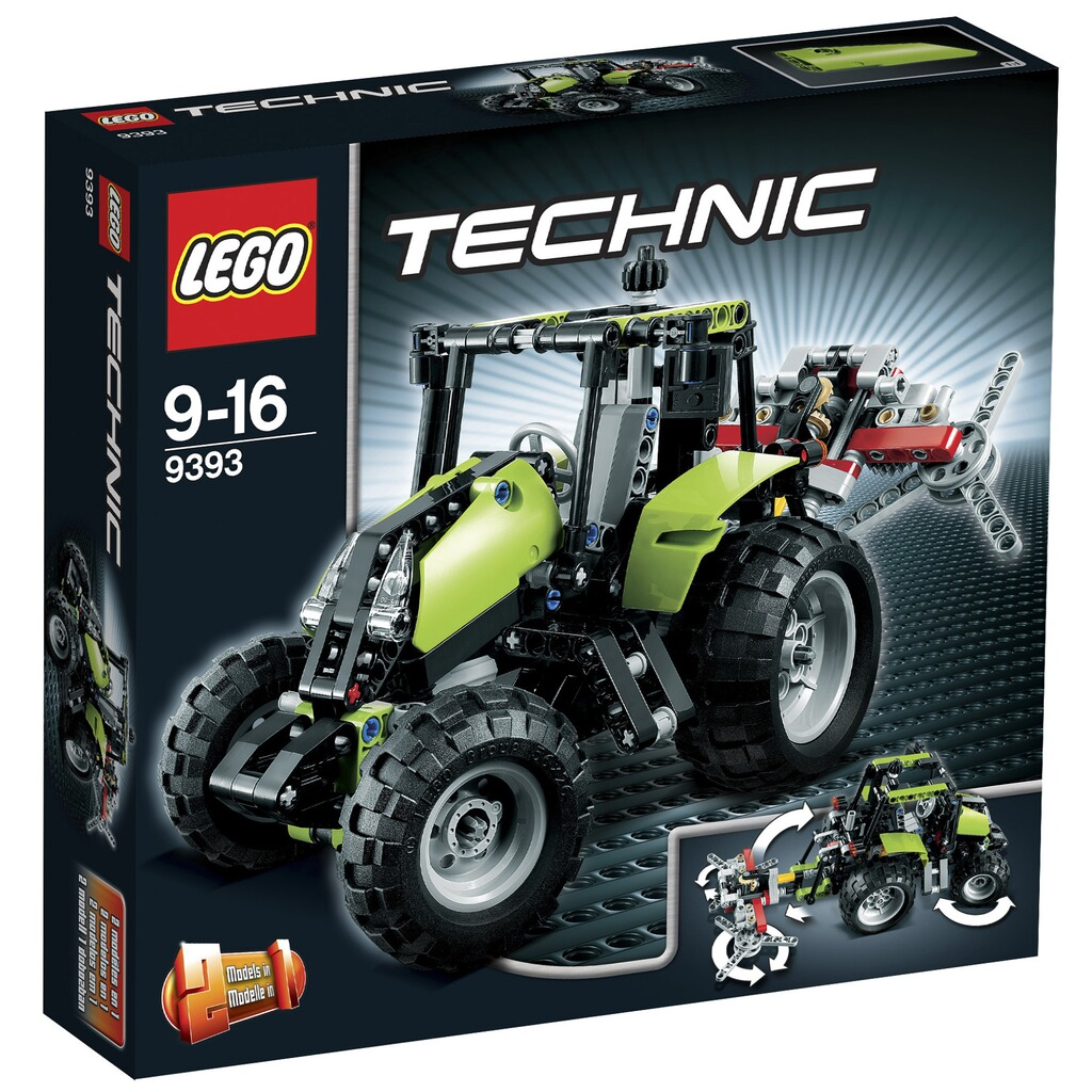 lego technic 9393 traktor legotechnik online kaufen. Black Bedroom Furniture Sets. Home Design Ideas