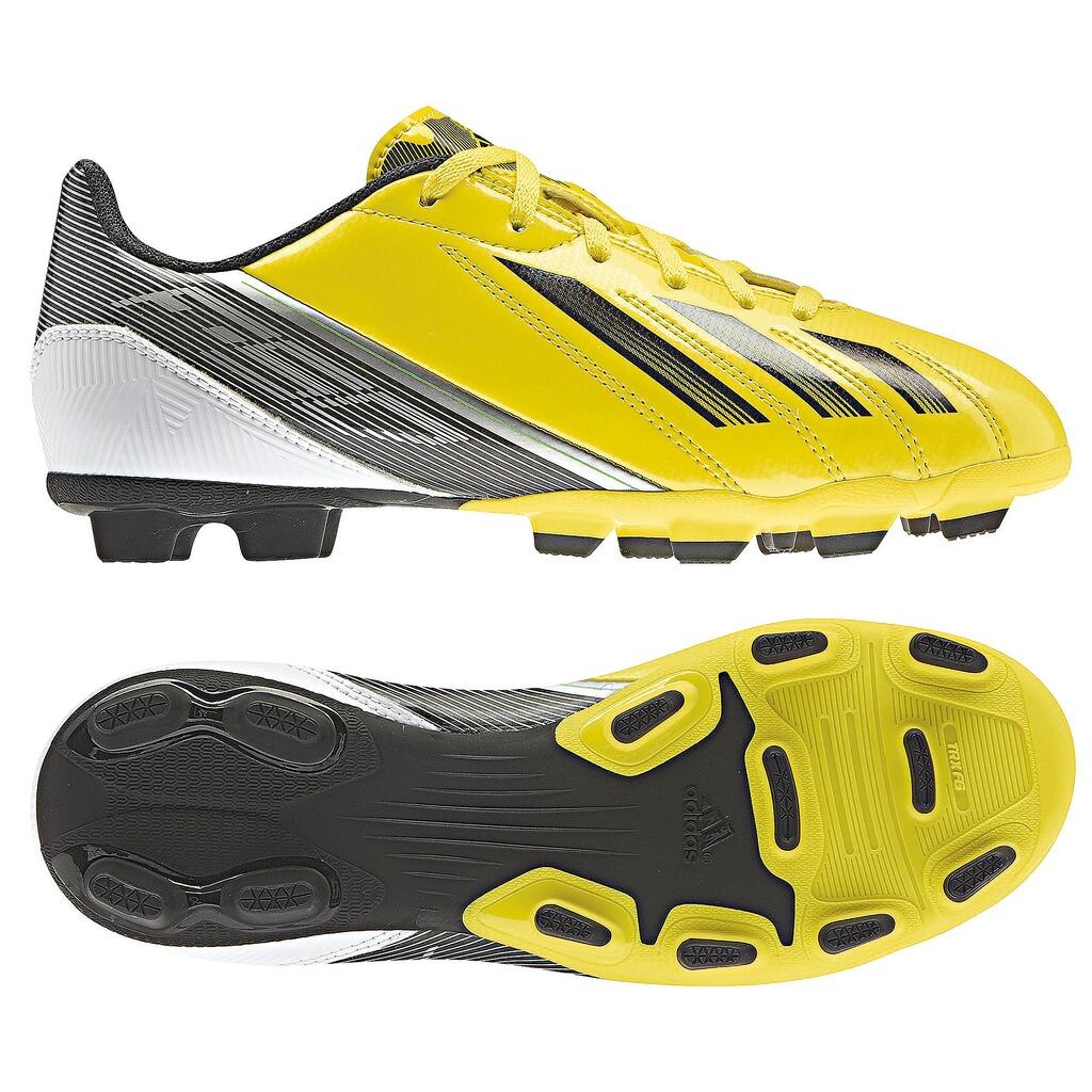 adidas Fußballschuhe F50 gelbschwarz