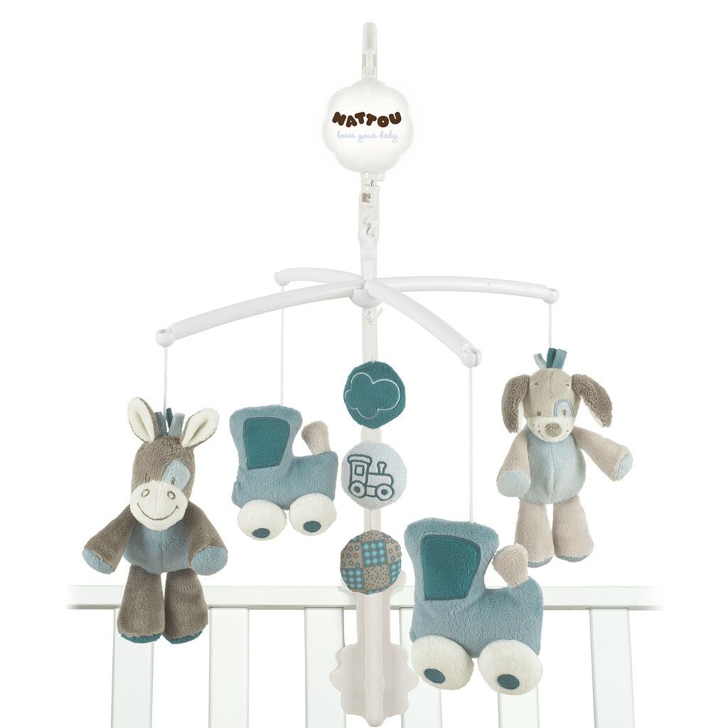 nattou mobile gaston cyril online kaufen baby walz. Black Bedroom Furniture Sets. Home Design Ideas