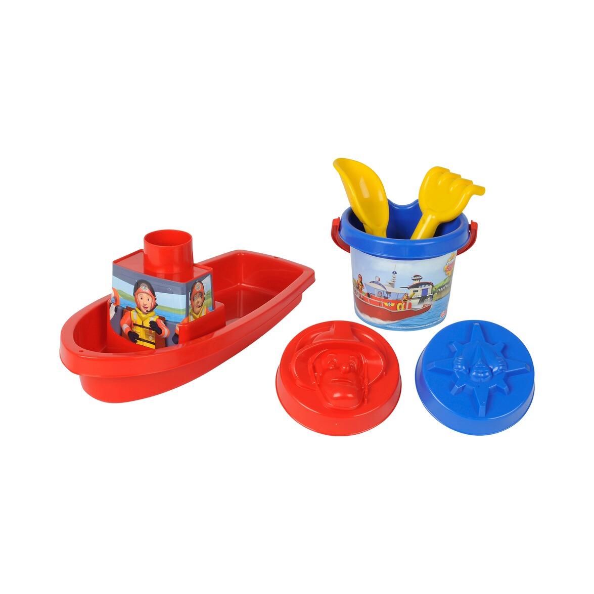 simba feuerwehrmann sam sandspielzeugset boot online